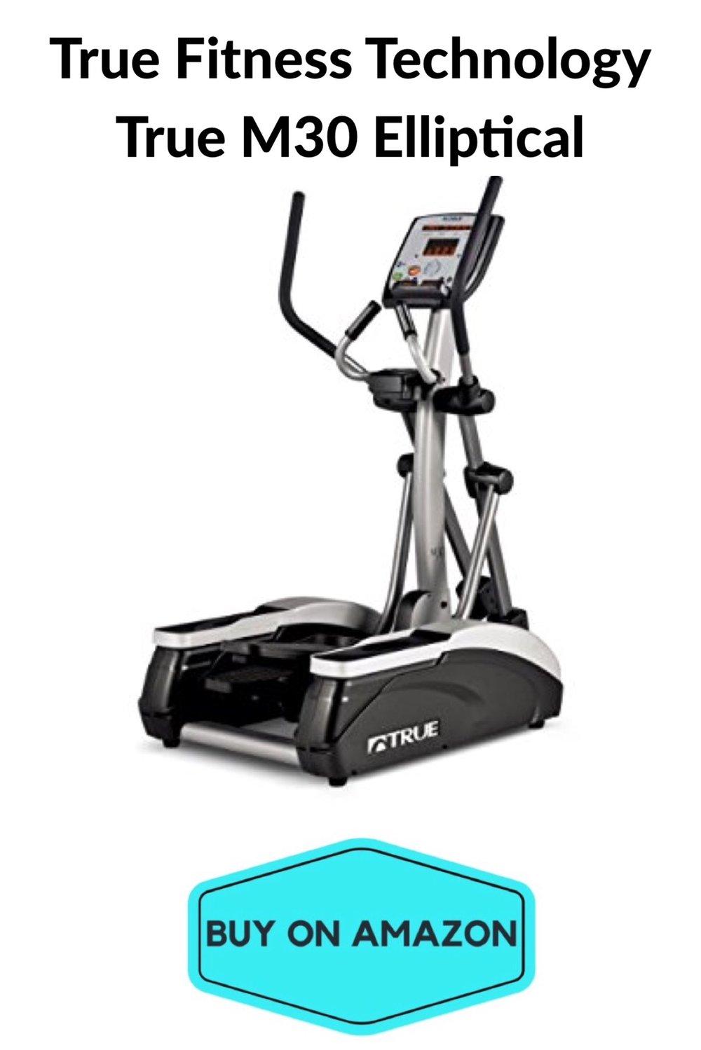 True Fitness: True M30 Elliptical Trainer