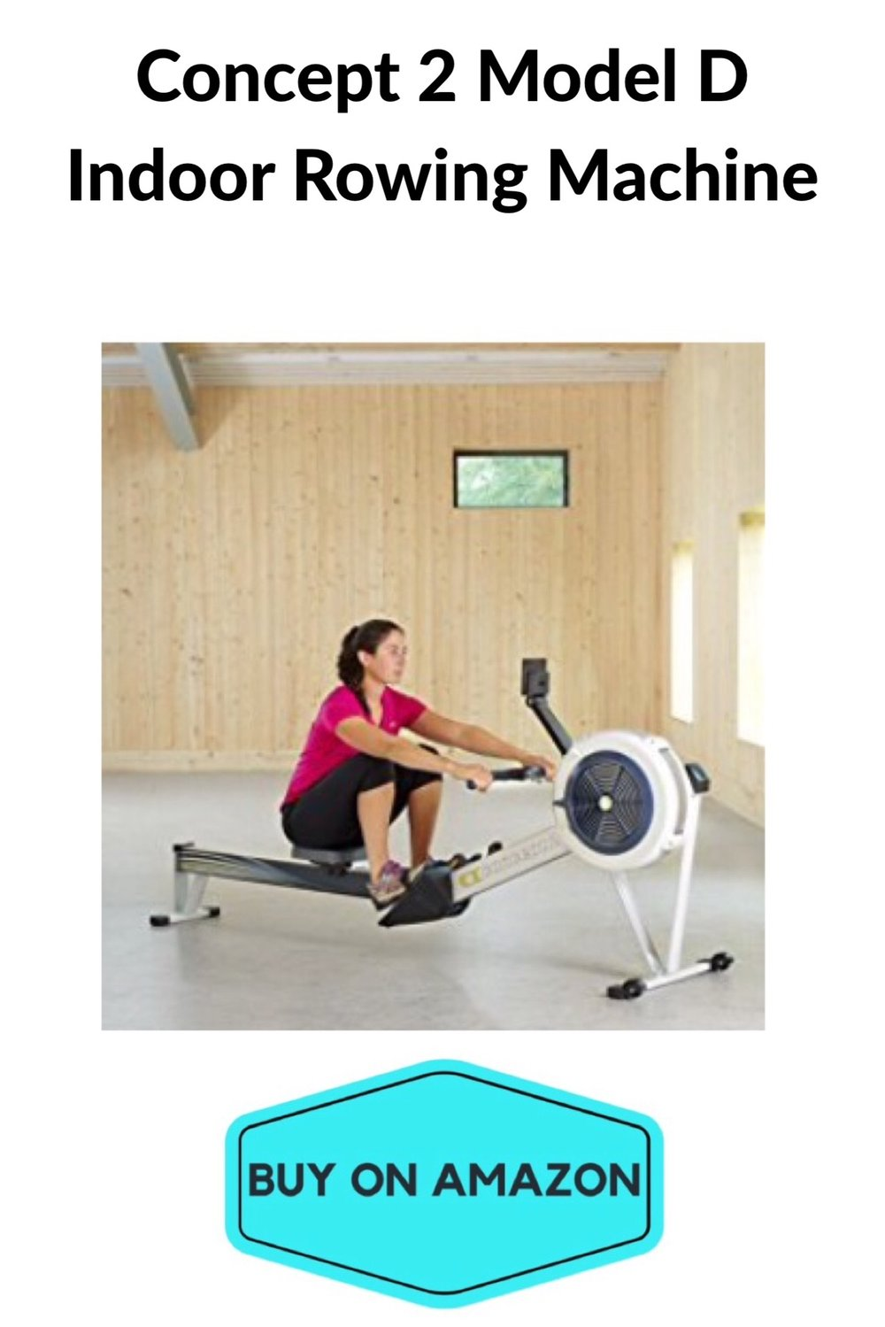 Concept 2 Model D Indoor Rowing Machine