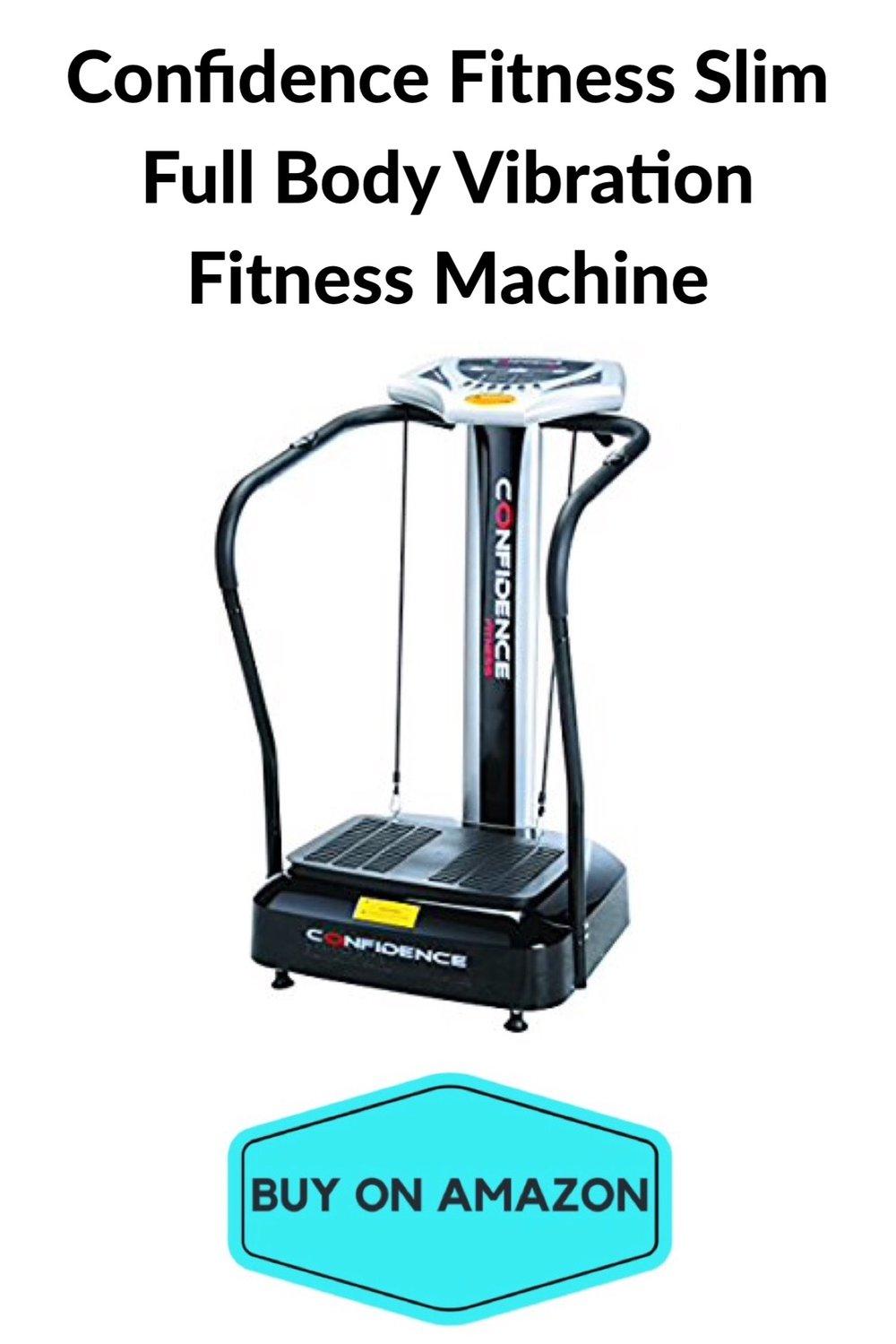 Confidence Fitness Slim Full Body Vibration Fitness Machine