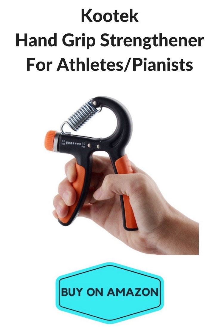 Kootek Hand Grip Strengthener For Athletes and Pianists