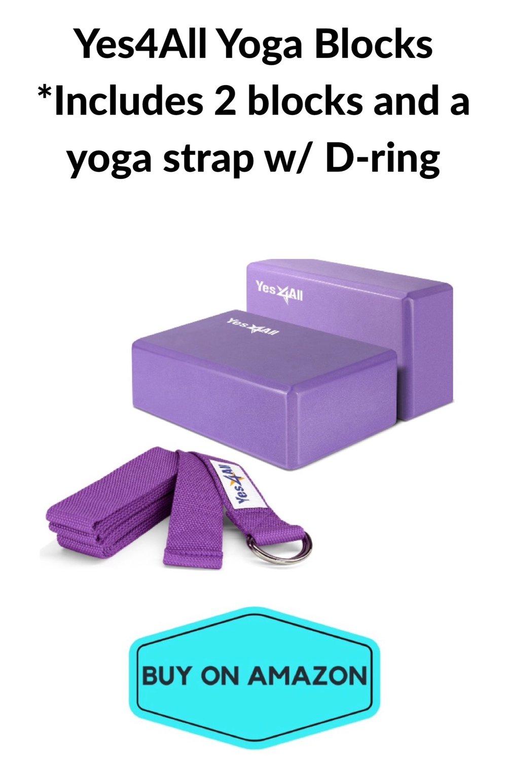 Yes4All Yoga Blocks, Set of 2