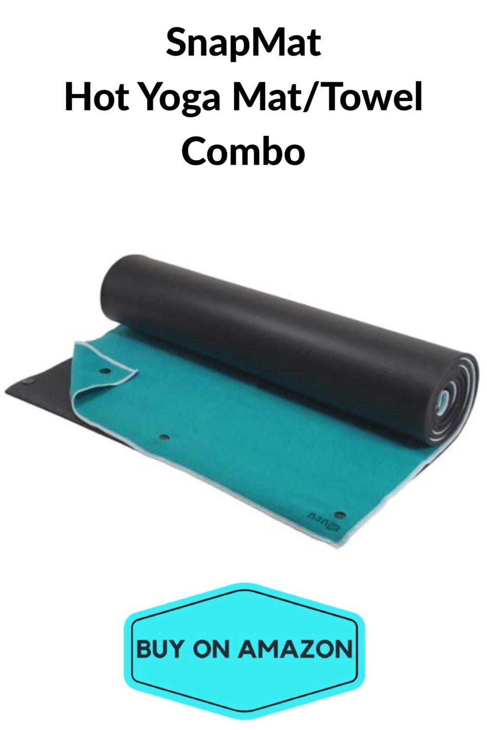 SnapMat Hot Yoga Mat/Towel Combo