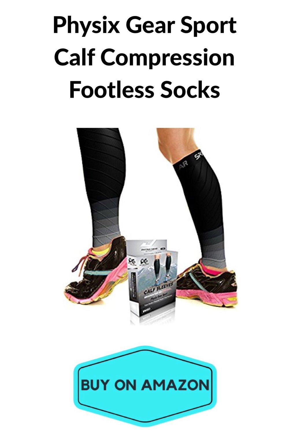 Compression Calf Sleeves, Footless
