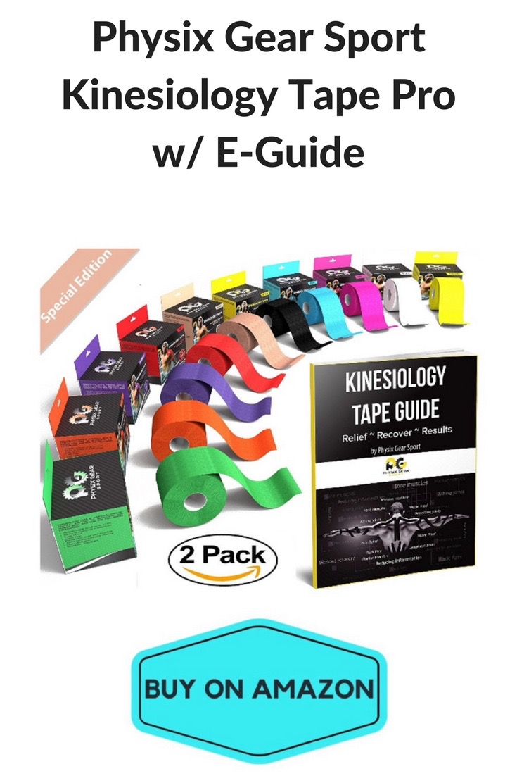Physix Gear Sport Kinesiology Tape and Guide