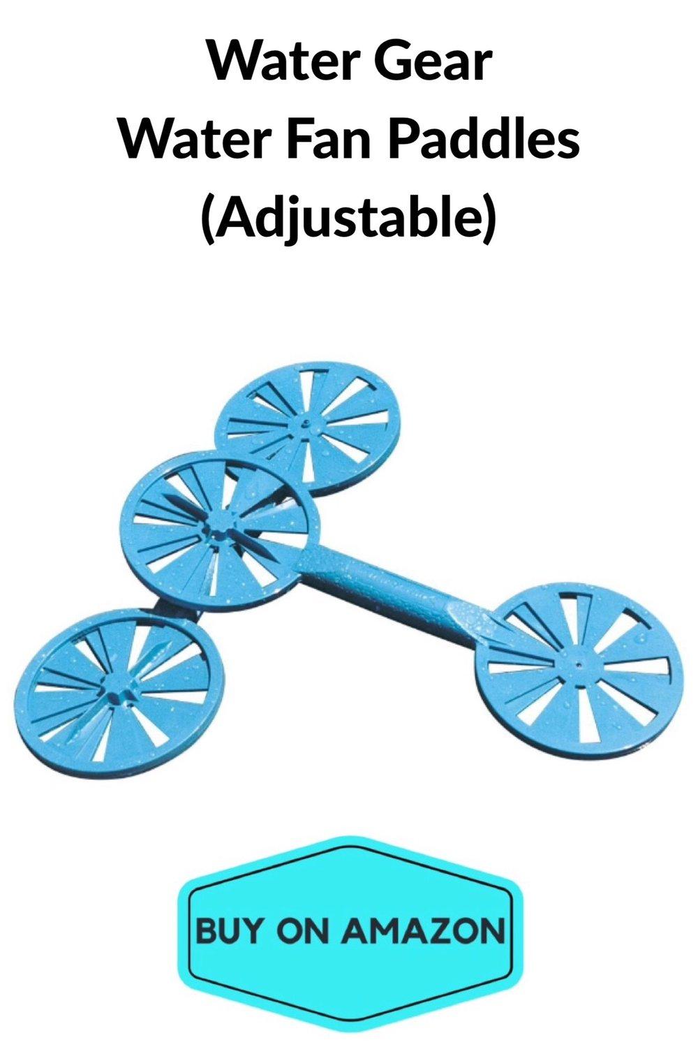 Water Fan Paddles, Adjustable