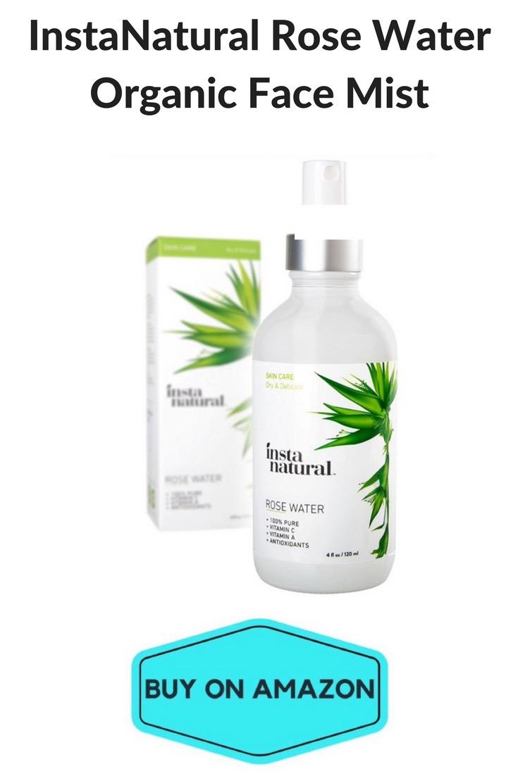 Natural Rose Water Organic Face Spray