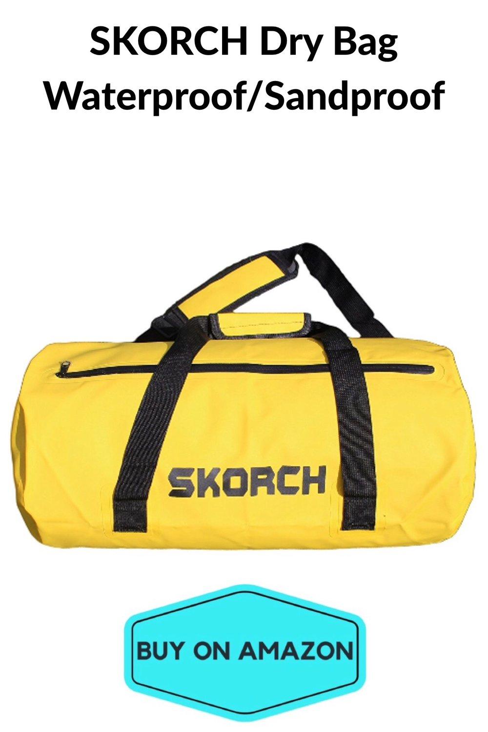SKORCH Dry Bag: Waterproof/Sandproof