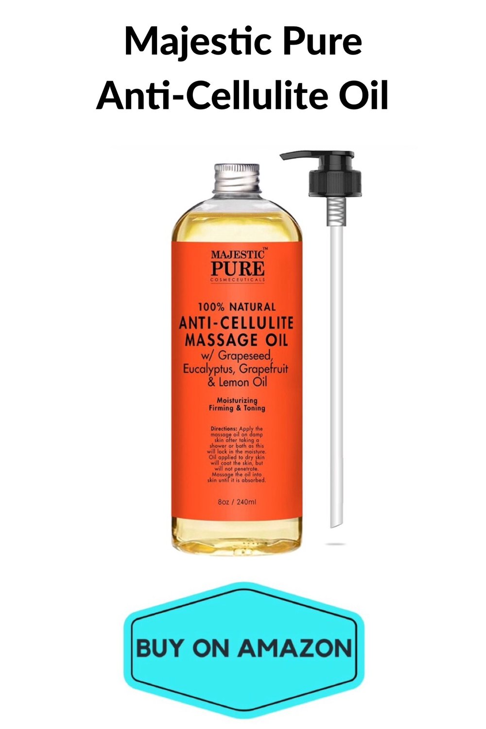 Majestic Pure Anti-Cellulite Oil