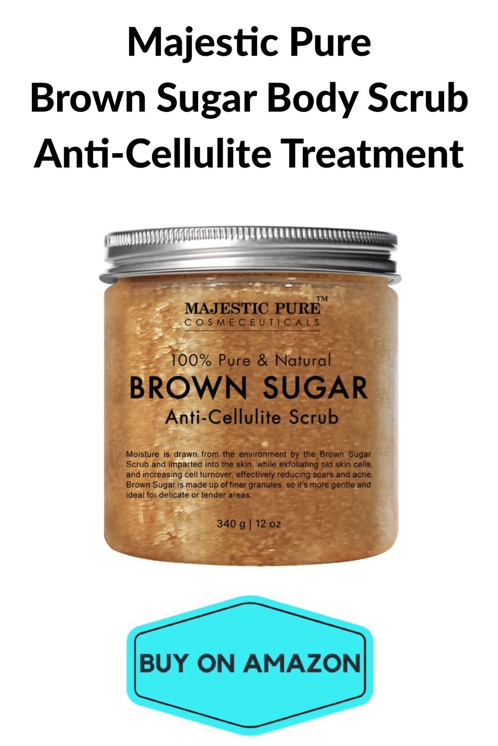 Brown Sugar Body Scrub Anti-Cellulite Treatment