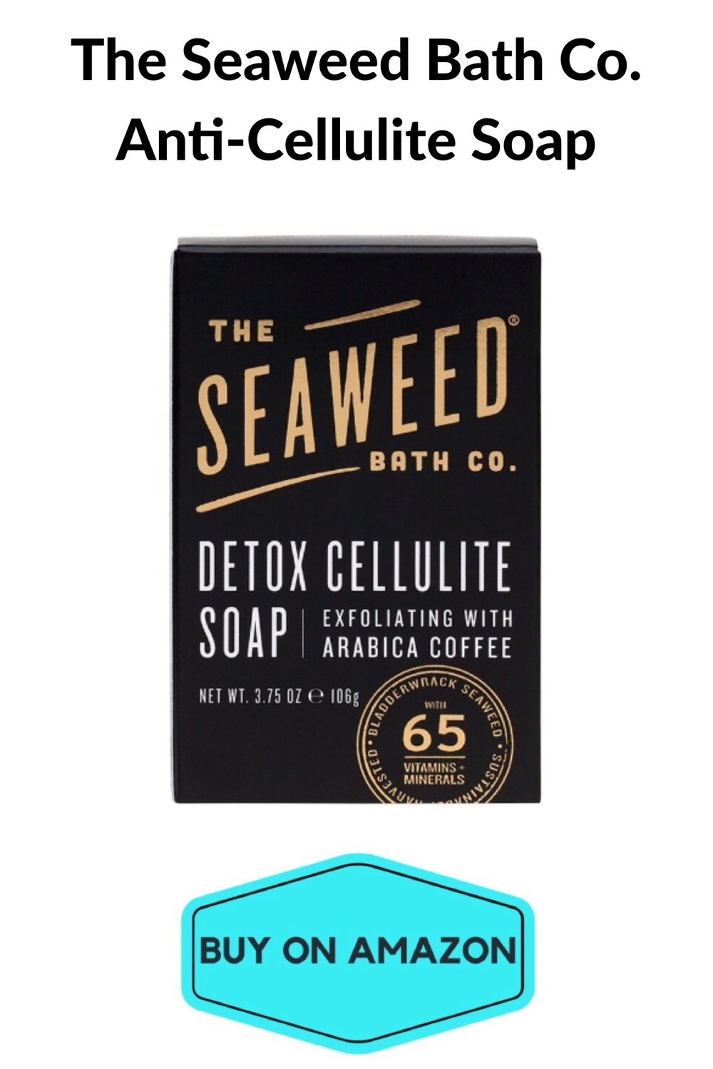 The Seaweed Bath Company Anti-Cellulite Soap