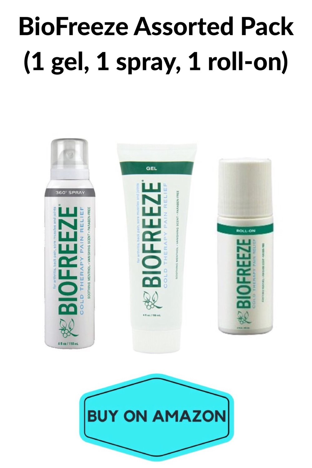 BioFreeze Assorted Pack