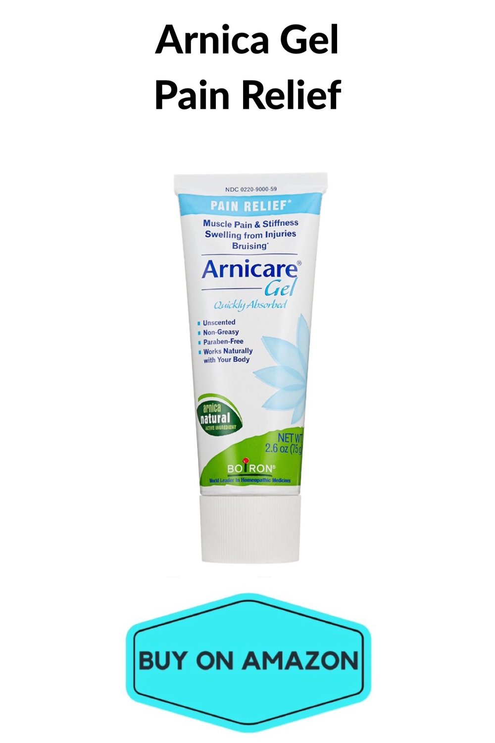 Arnica Gel Pain Relief