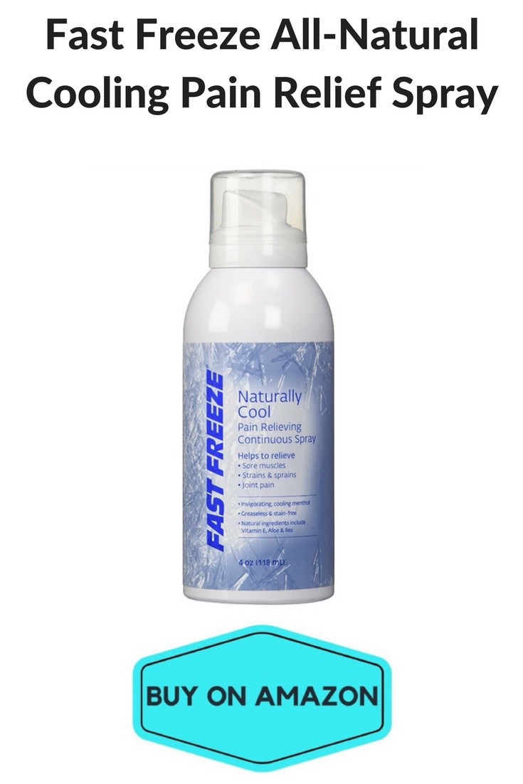 Fast Freeze All-Natural Cooling Pain Relief Spray