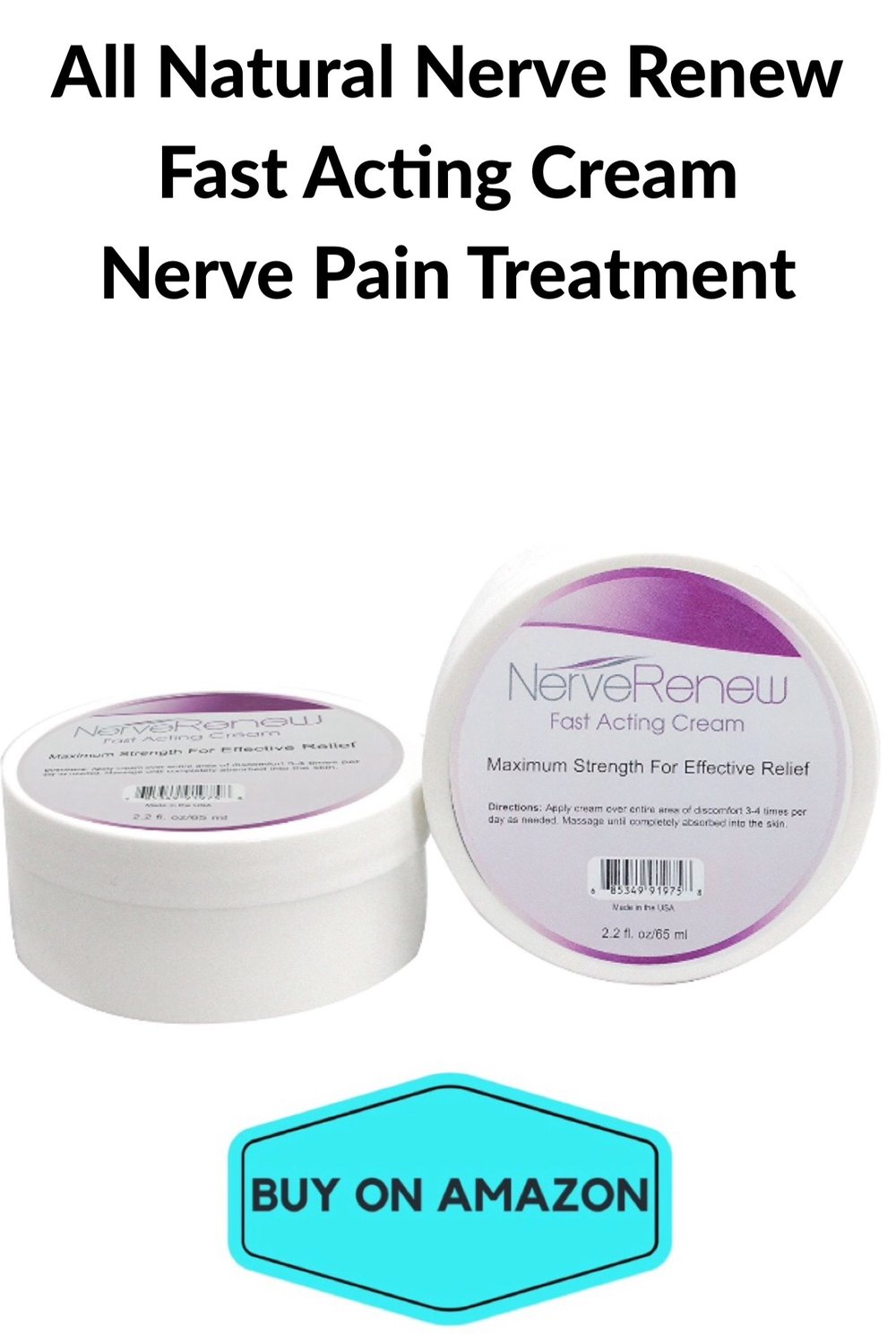 Fast Acting Cream Nerve Pain Treatment