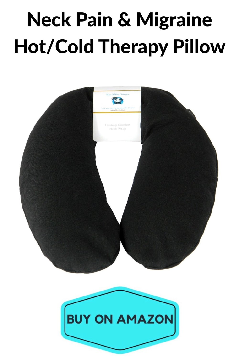 Neck Pain & Migraine Hot/Cold Therapy Pillow