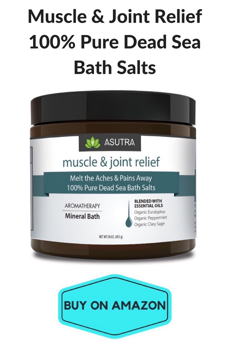 Muscle & Joint Relief 100% Dead Sea Bath Salts