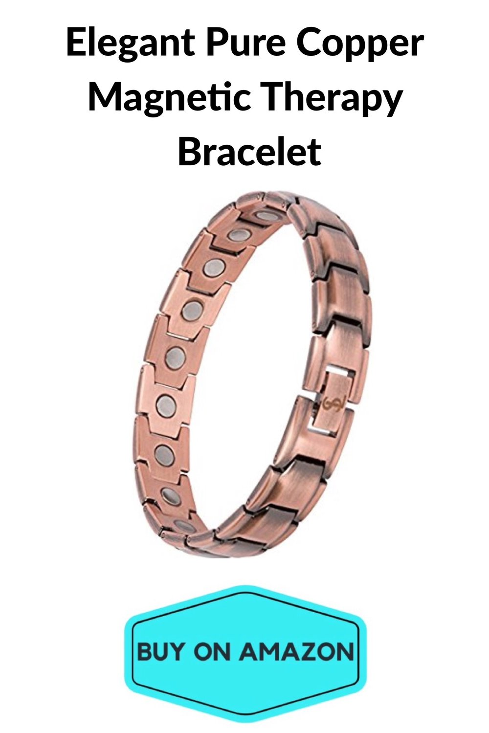 Elegant Pure Copper Magnetic Therapy Bracelet
