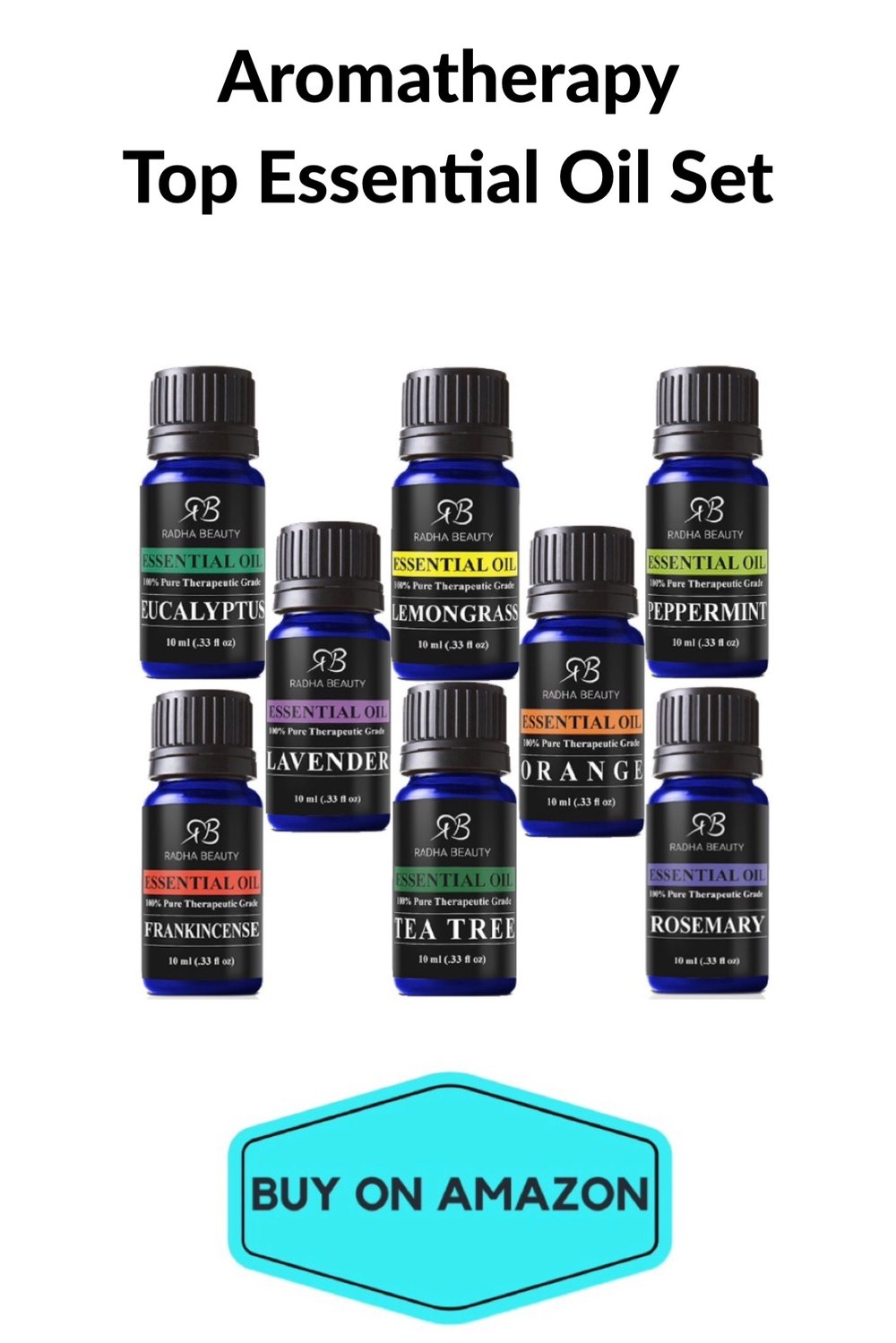Aromatherapy Top Essential Oil Set