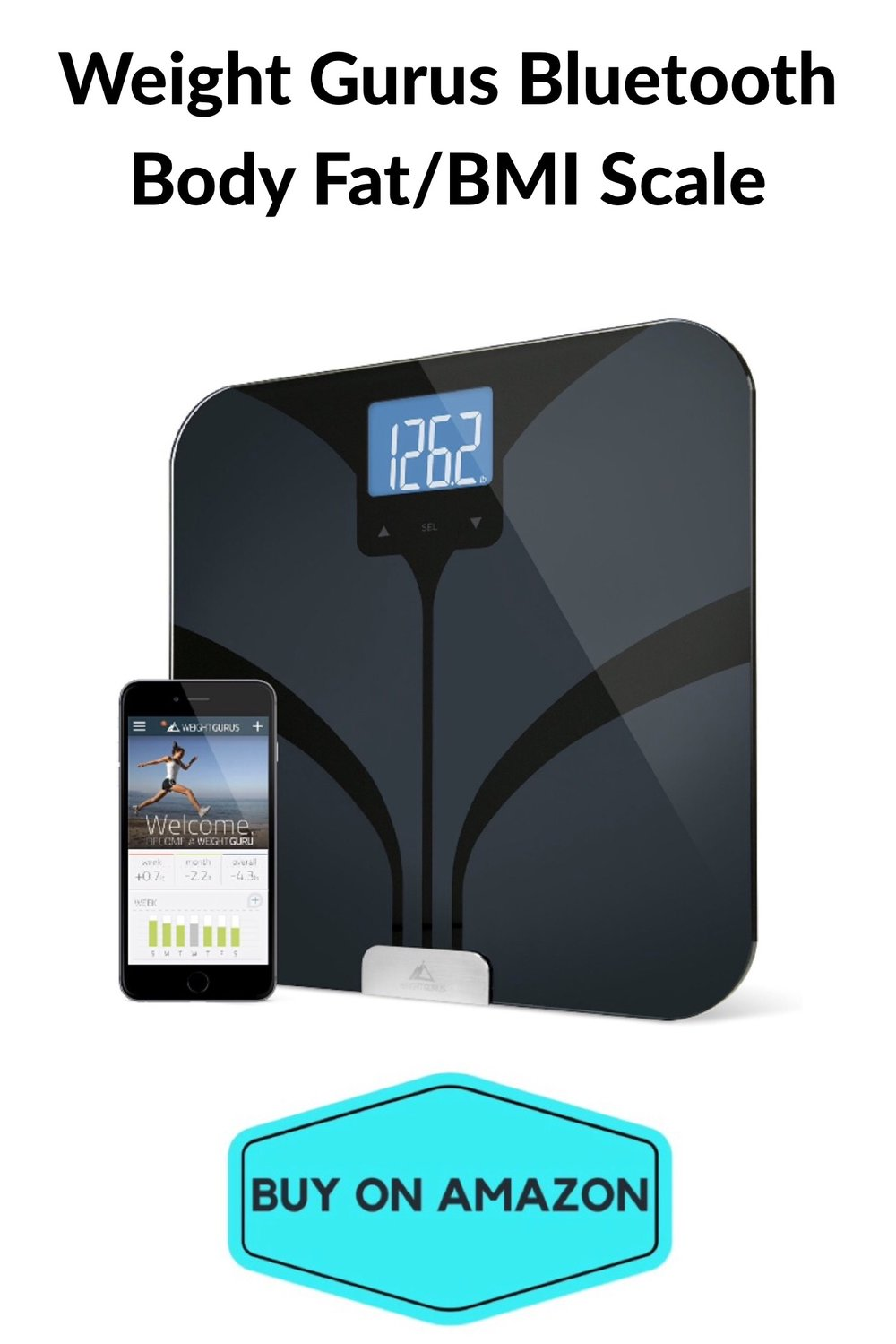 Weight Gurus Bluetooth Body Fat/BMI Scale