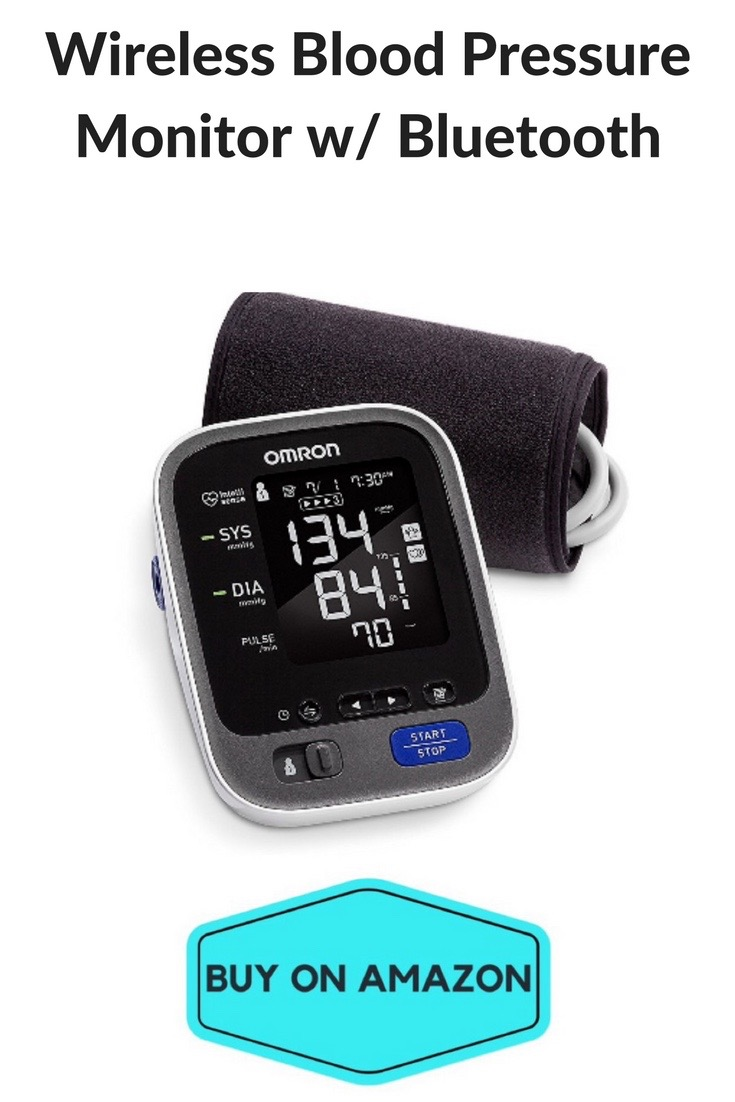 Wireless Blood Pressure Monitor w/ Bluetooth