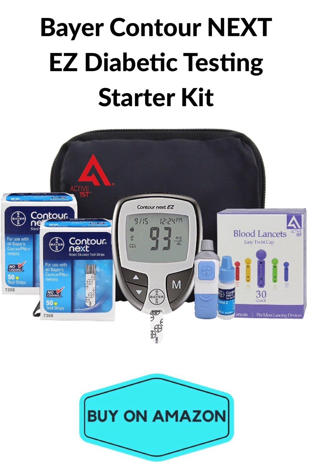 EZ Diabetic Testing Starter Kit
