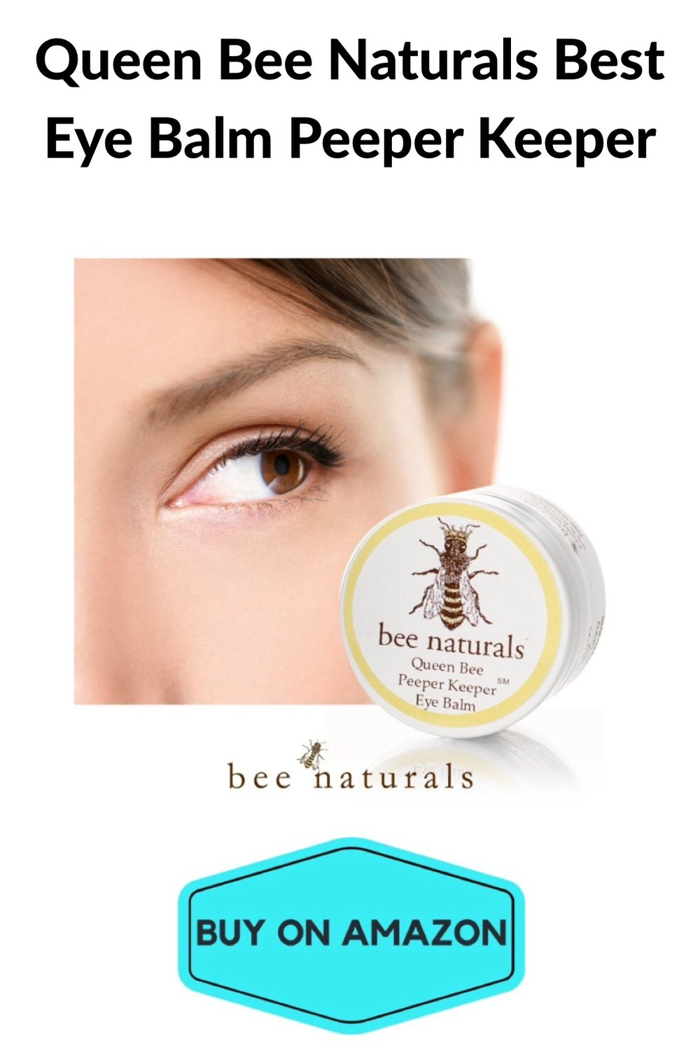 Queen Bee Naturals Eye Balm Peeper Keeper