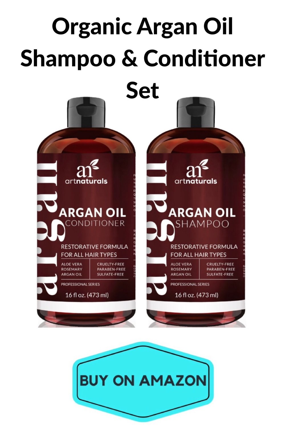Organic Argan Oil Shampoo & Conditioner