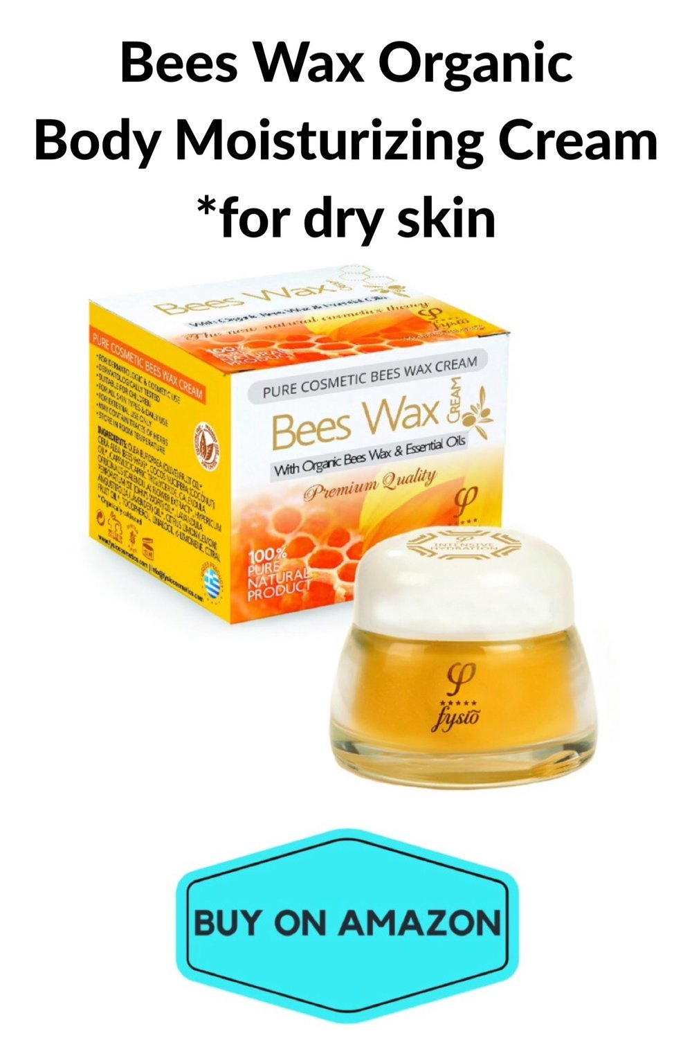 Bees Wax Organic Body Moisturizing Cream