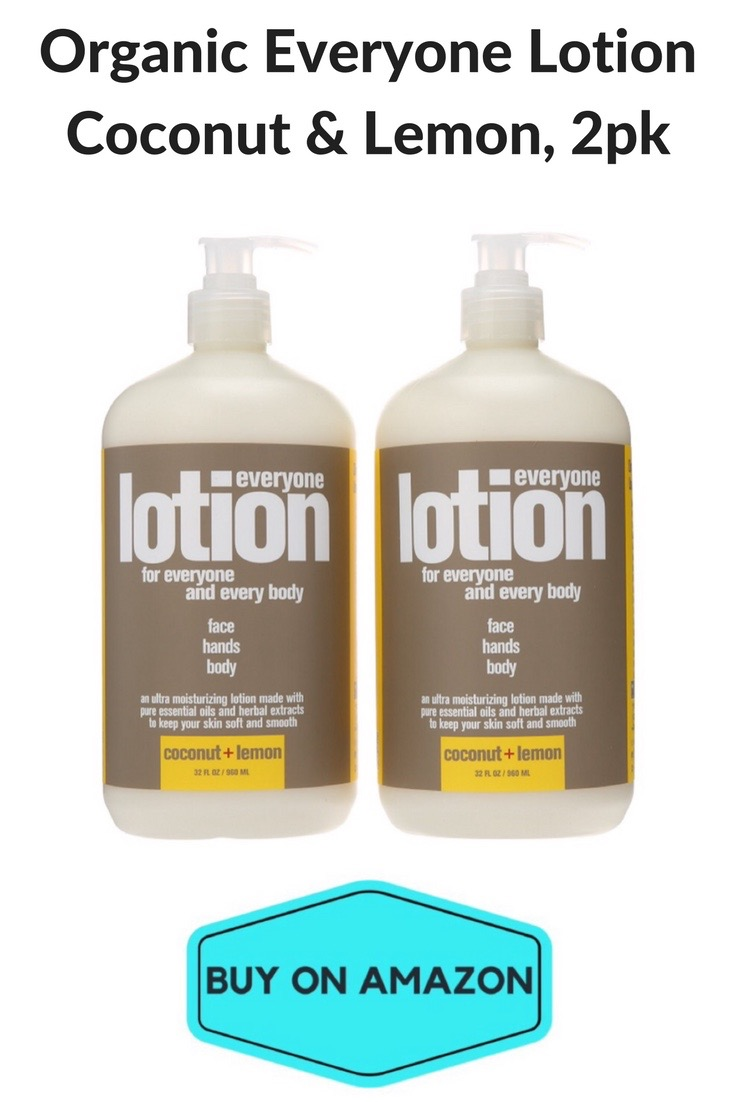 Organic Everyone Lotion, Coconut & Lemon, 2-pack
