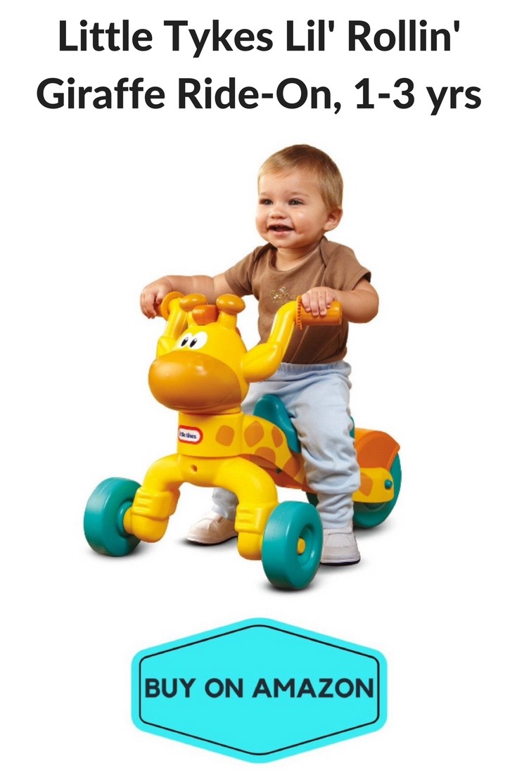 Little Tykes Lil' Rollin' Giraffe Ride-On