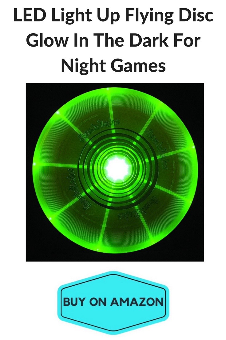 LED Light Up Flying Disc Glow In The Dark