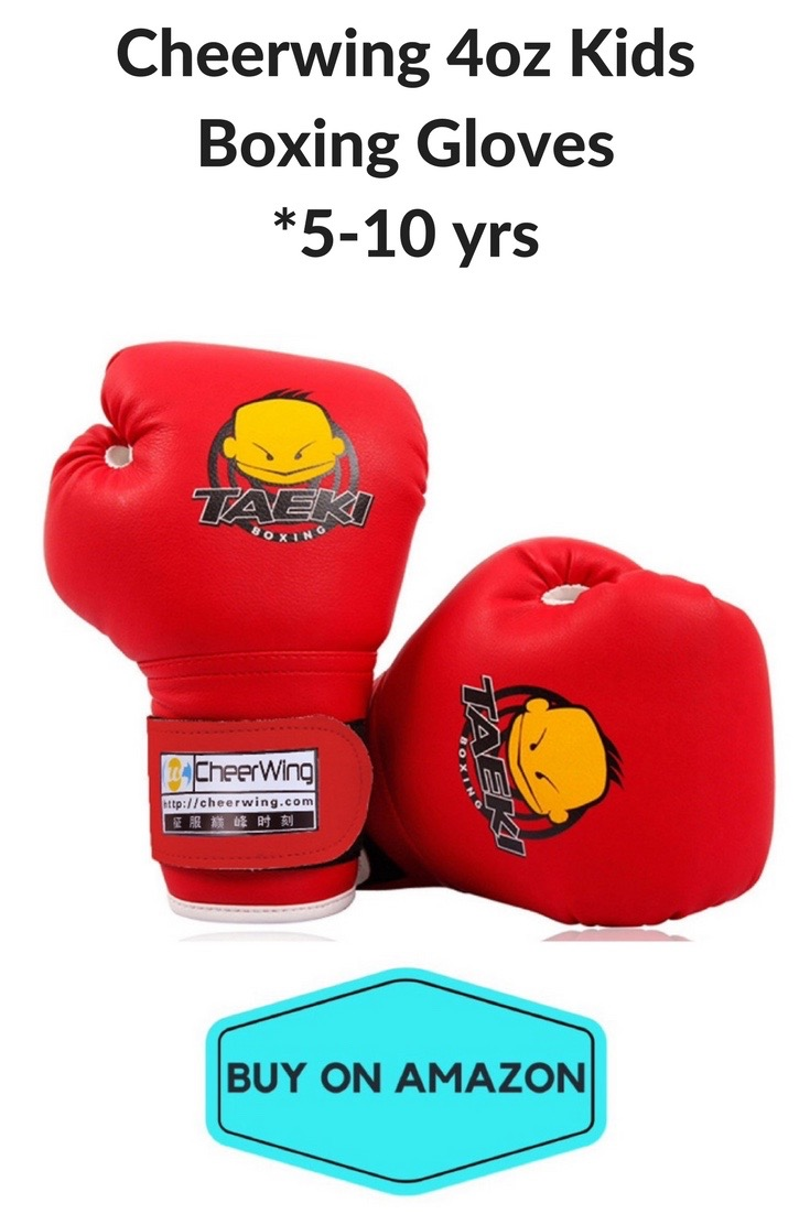 Cheerwing 4oz Kid Boxing Gloves, Ages 5-10