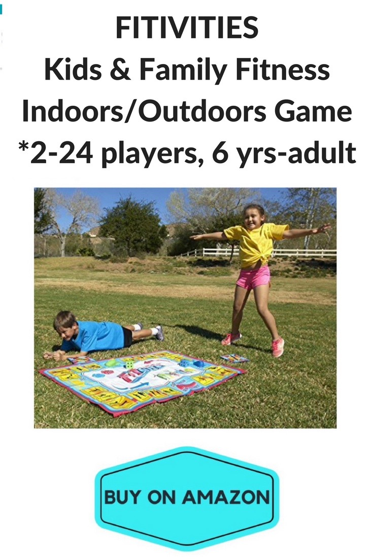 Fitivities Kids & Family Fitness Game, Indoor/Outdoor