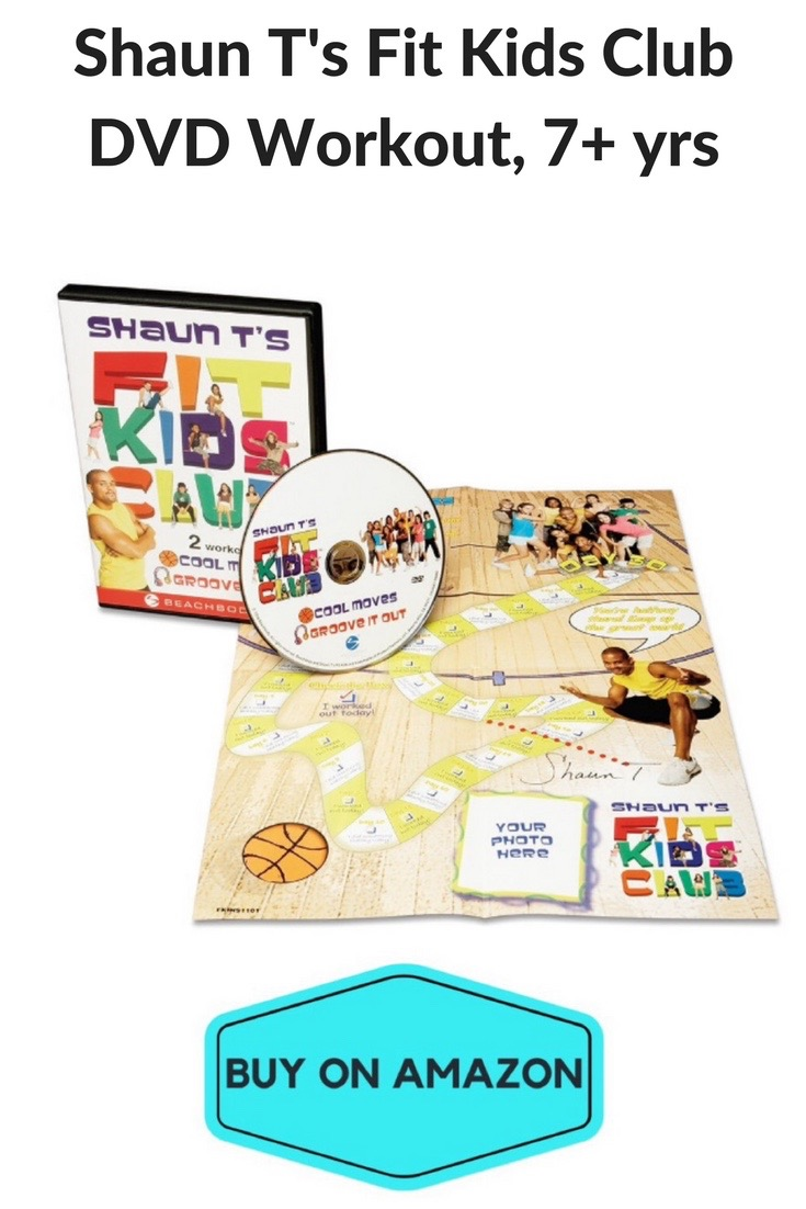 Shaun T's Fit Kids Club DVD Workout, Ages 7+