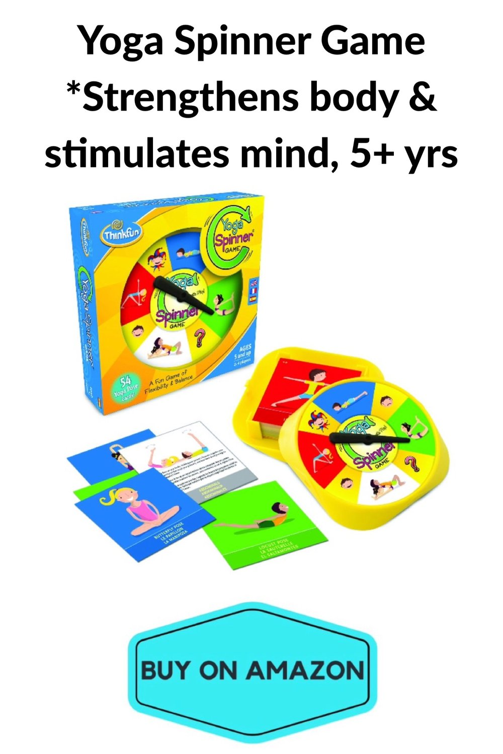Yoga Spinner Game, Age 5+