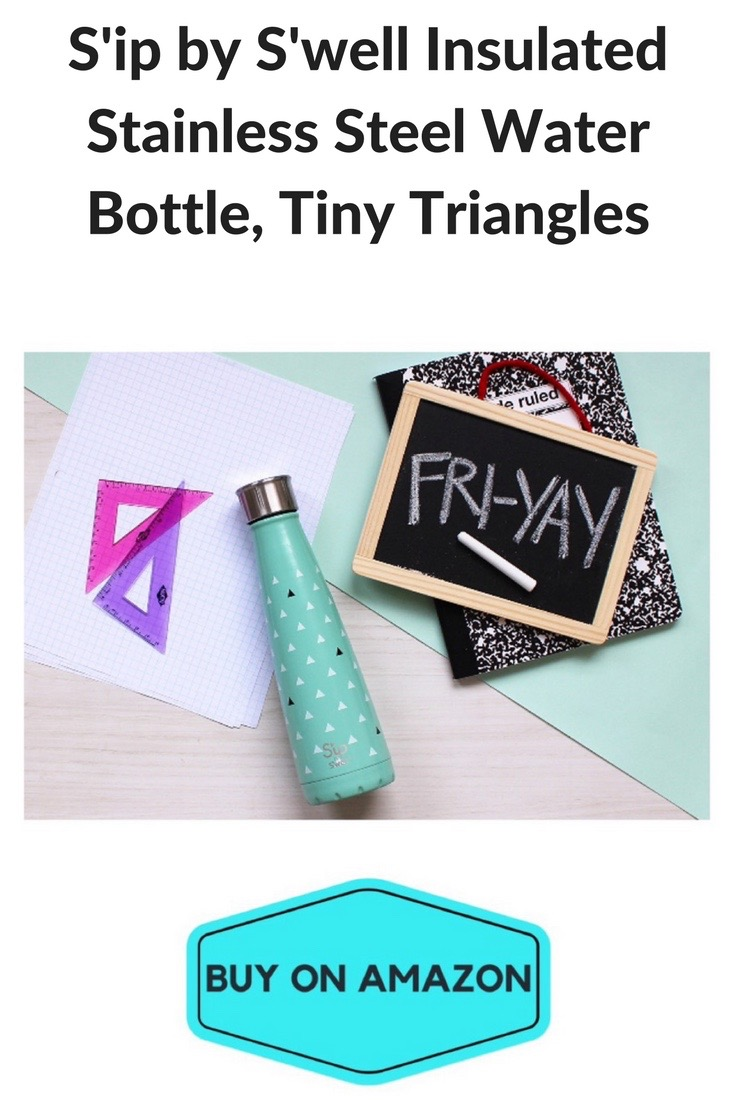S'IP by S'well Tiny Triangles Water Bottle