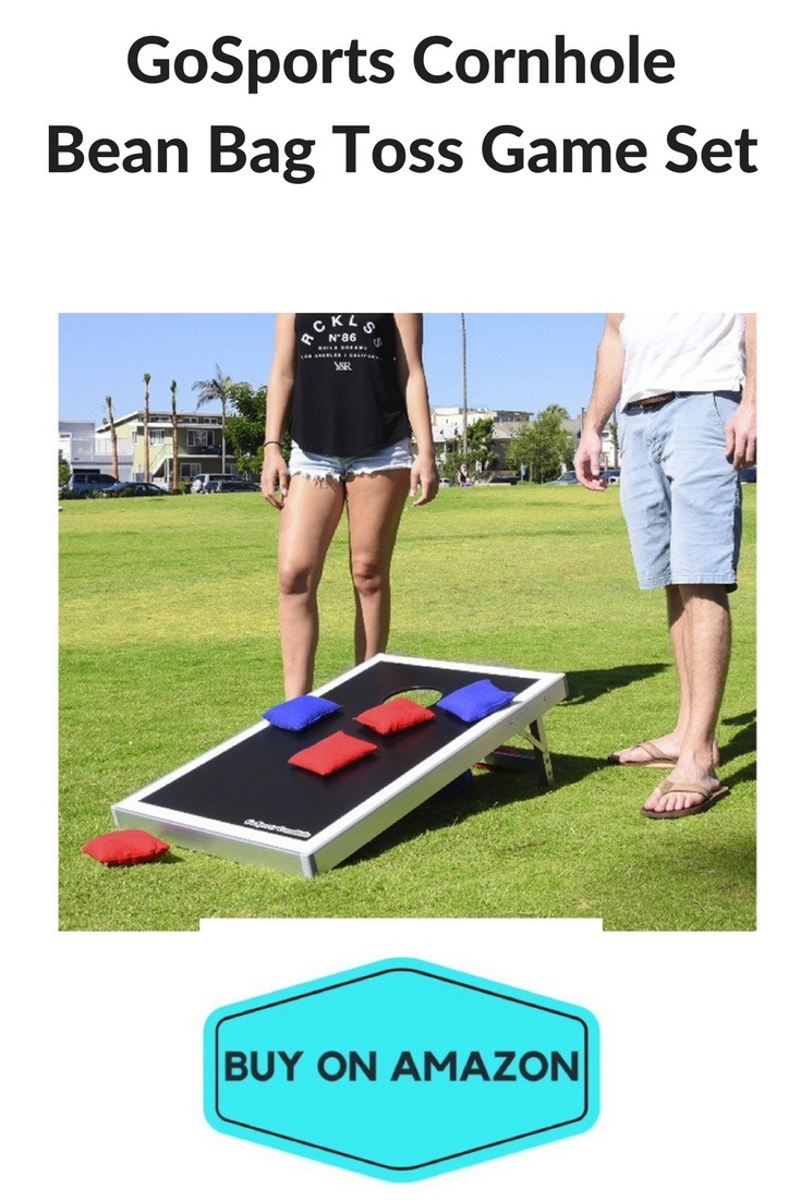 GoSports Cornhole Bean Bag Game Set