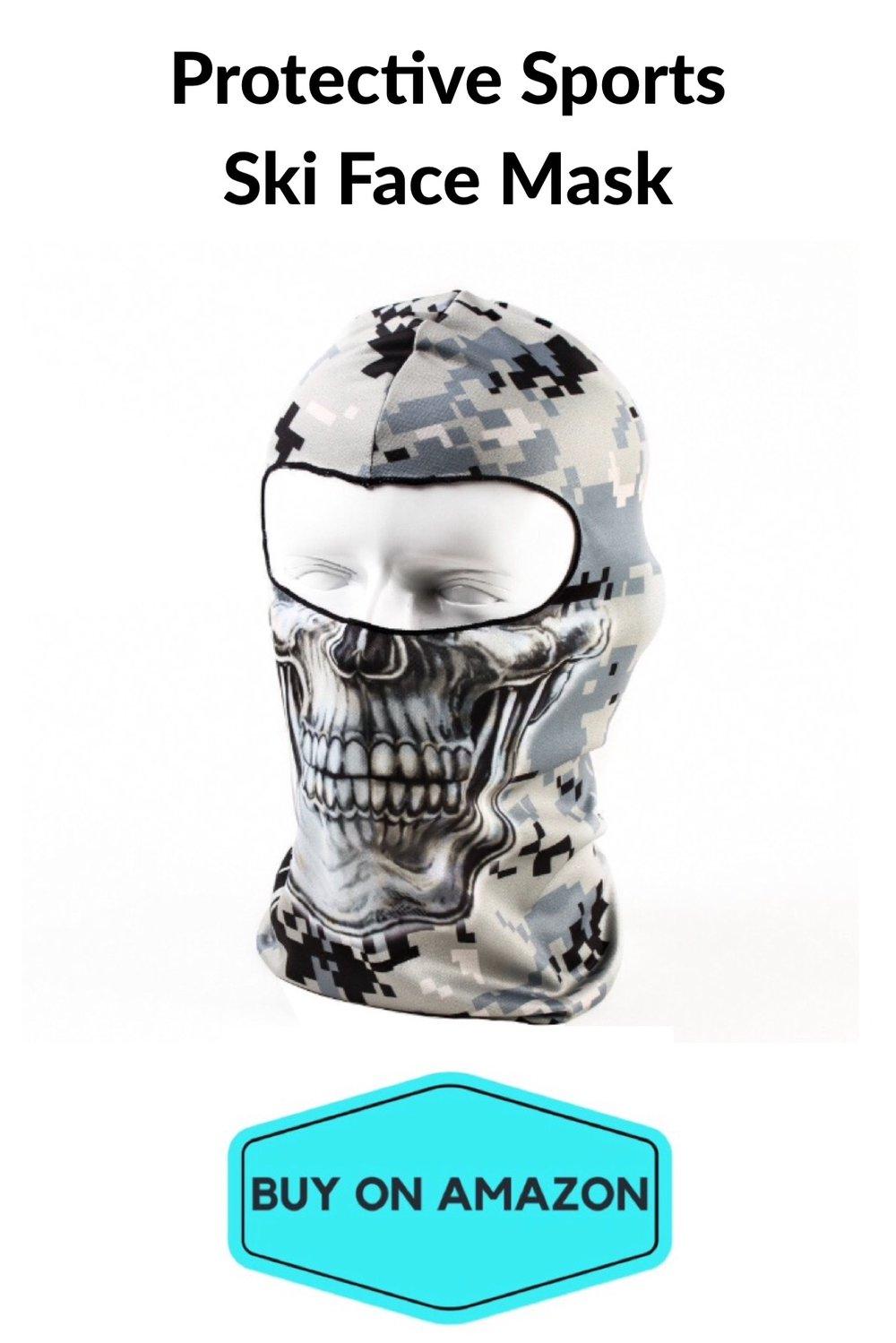 Protective Sports Ski Face Mask