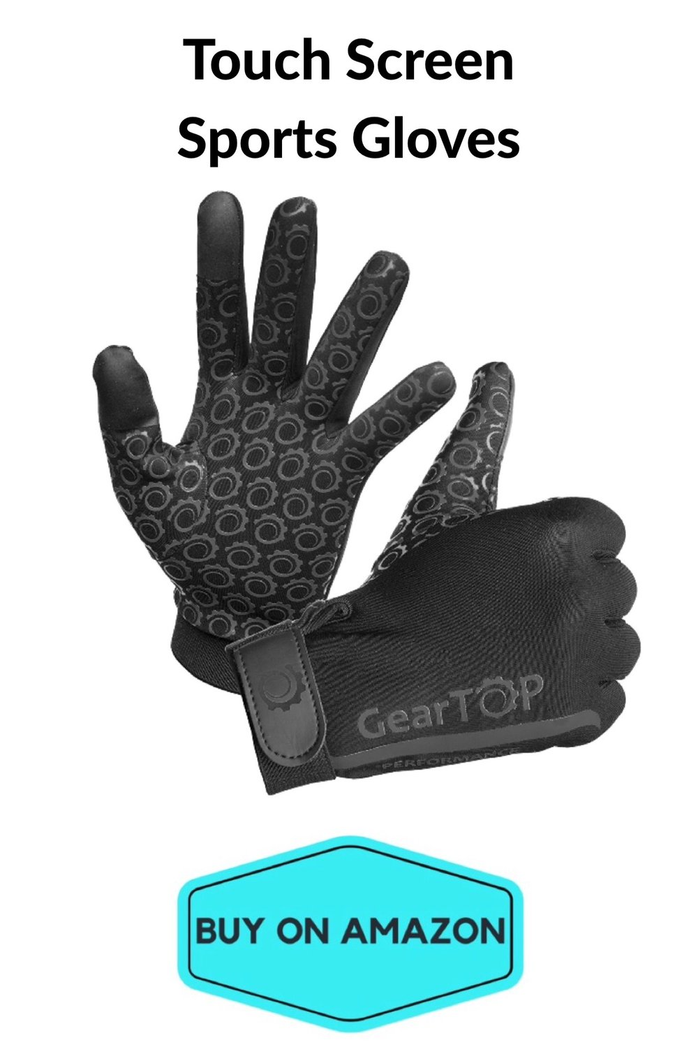 Touch Screen Running Gloves