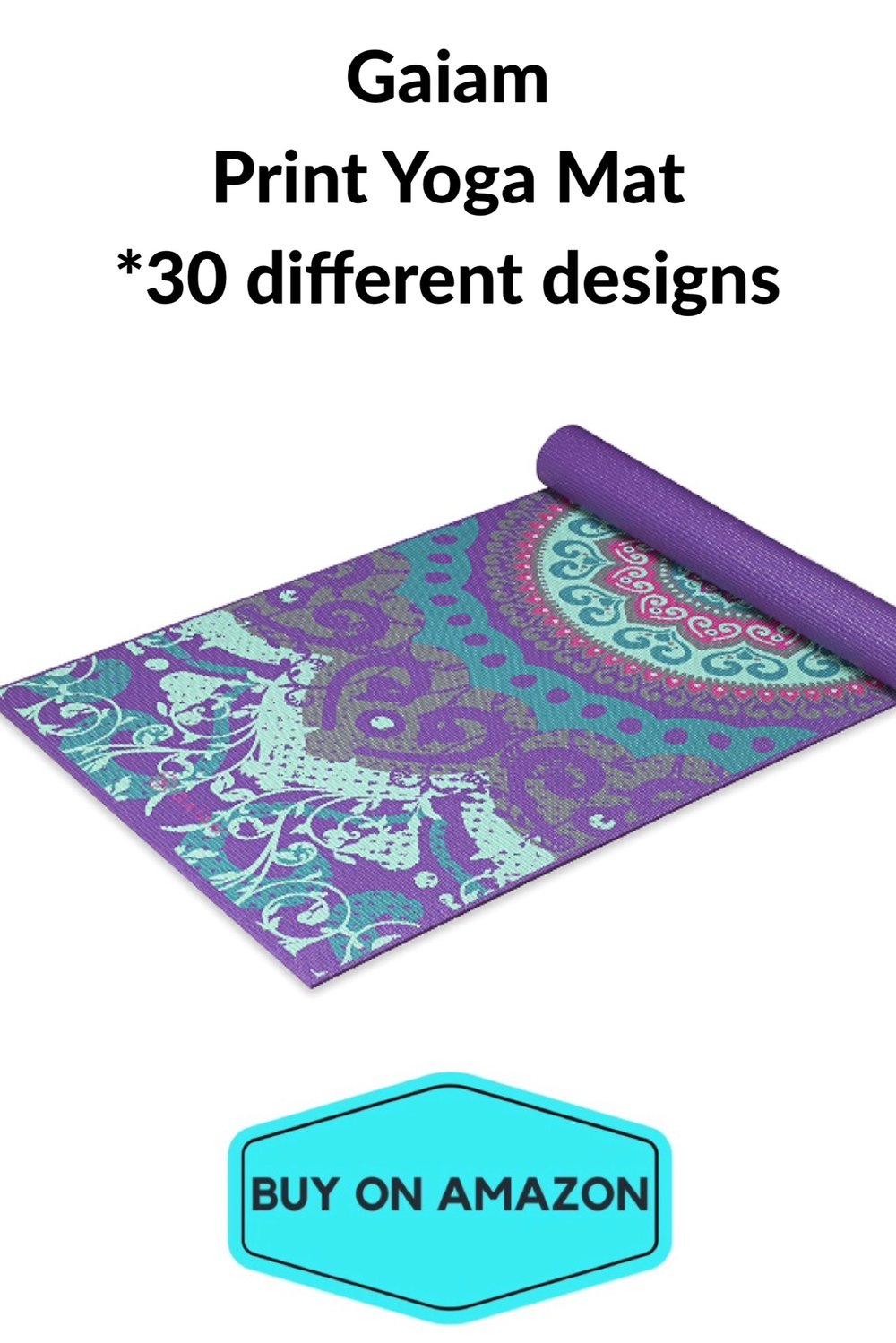 Gaiam Print Yoga Mats