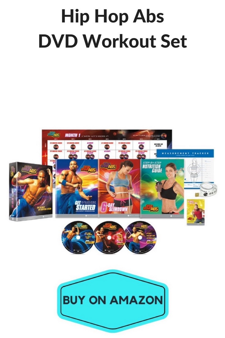 Hip Hop Abs DVD Workout Set