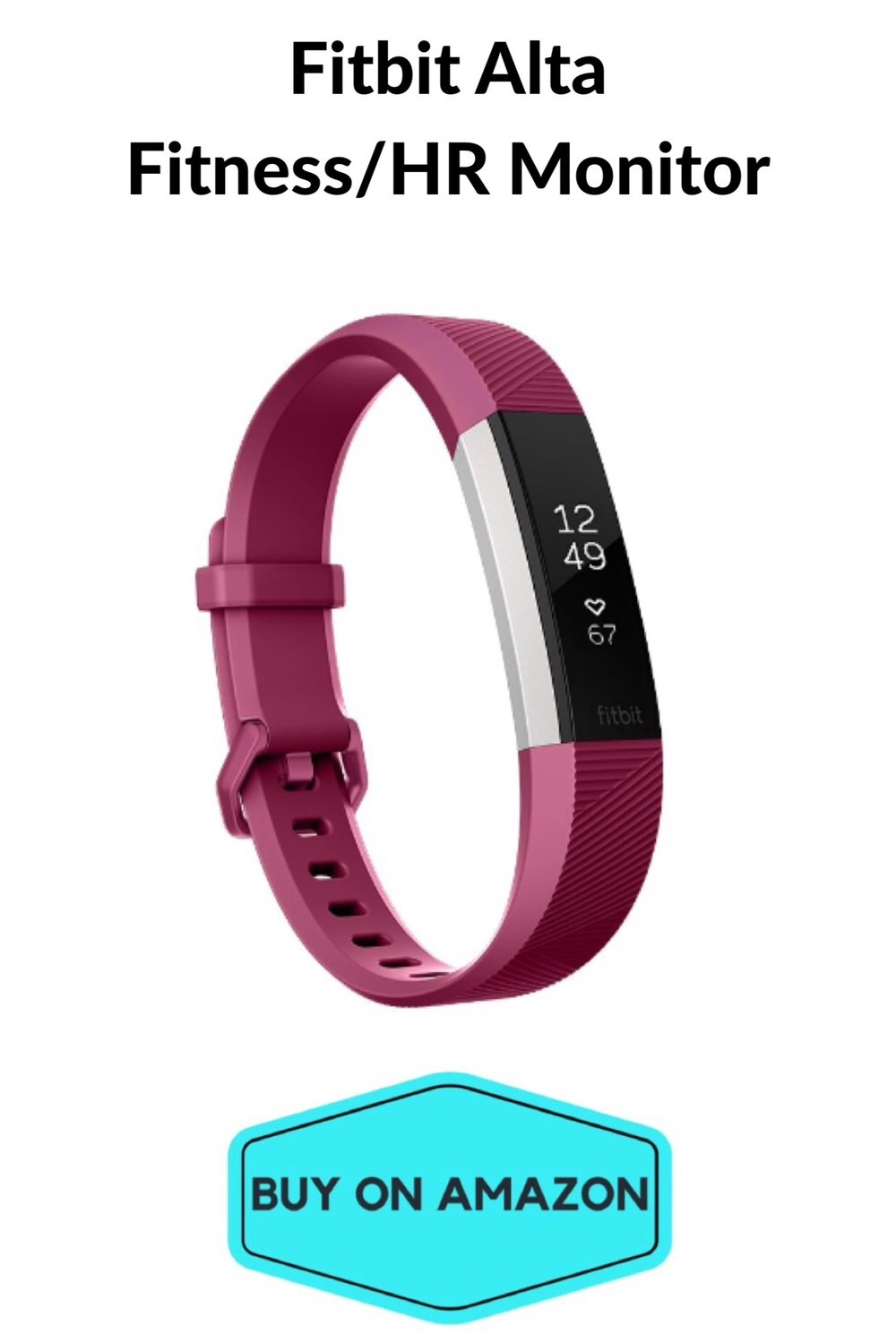 Fitbit Alta Fitness/ HR Monitor