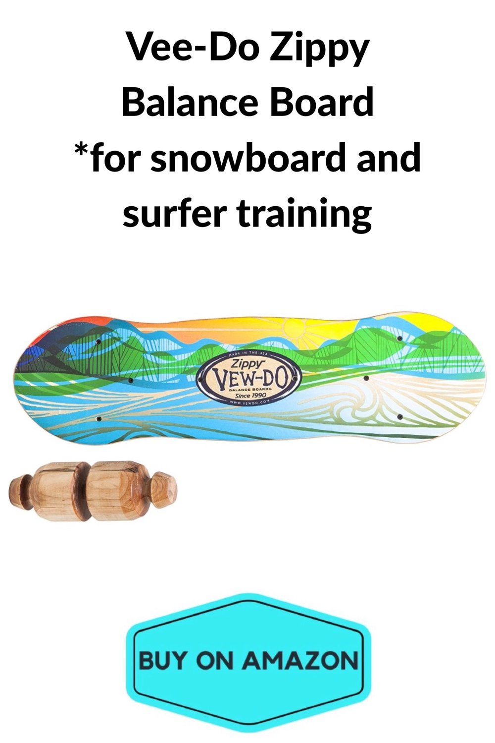Vee-Do Zippy Balance Board