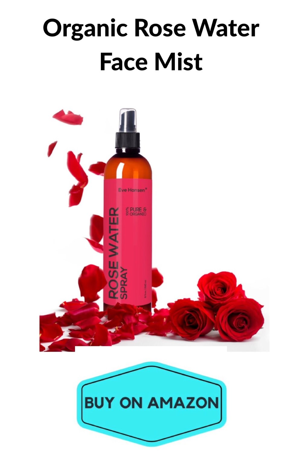 Organic Rose Water Face Mist