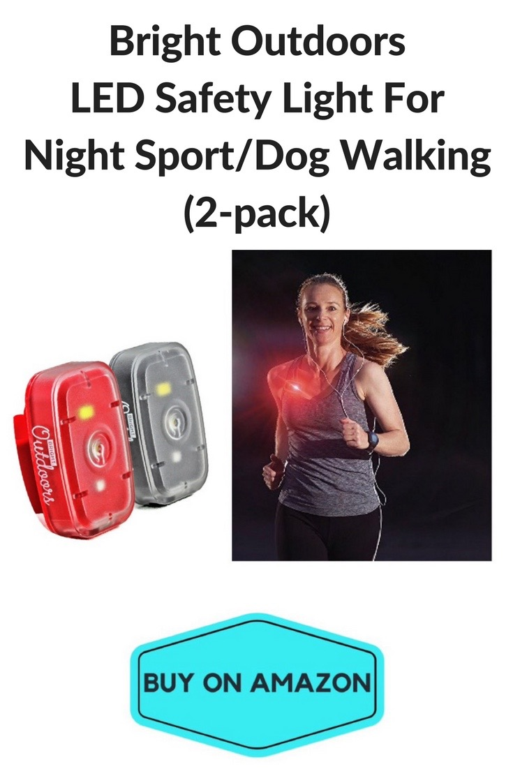 Bright Outdoors LED Safety Light For Running