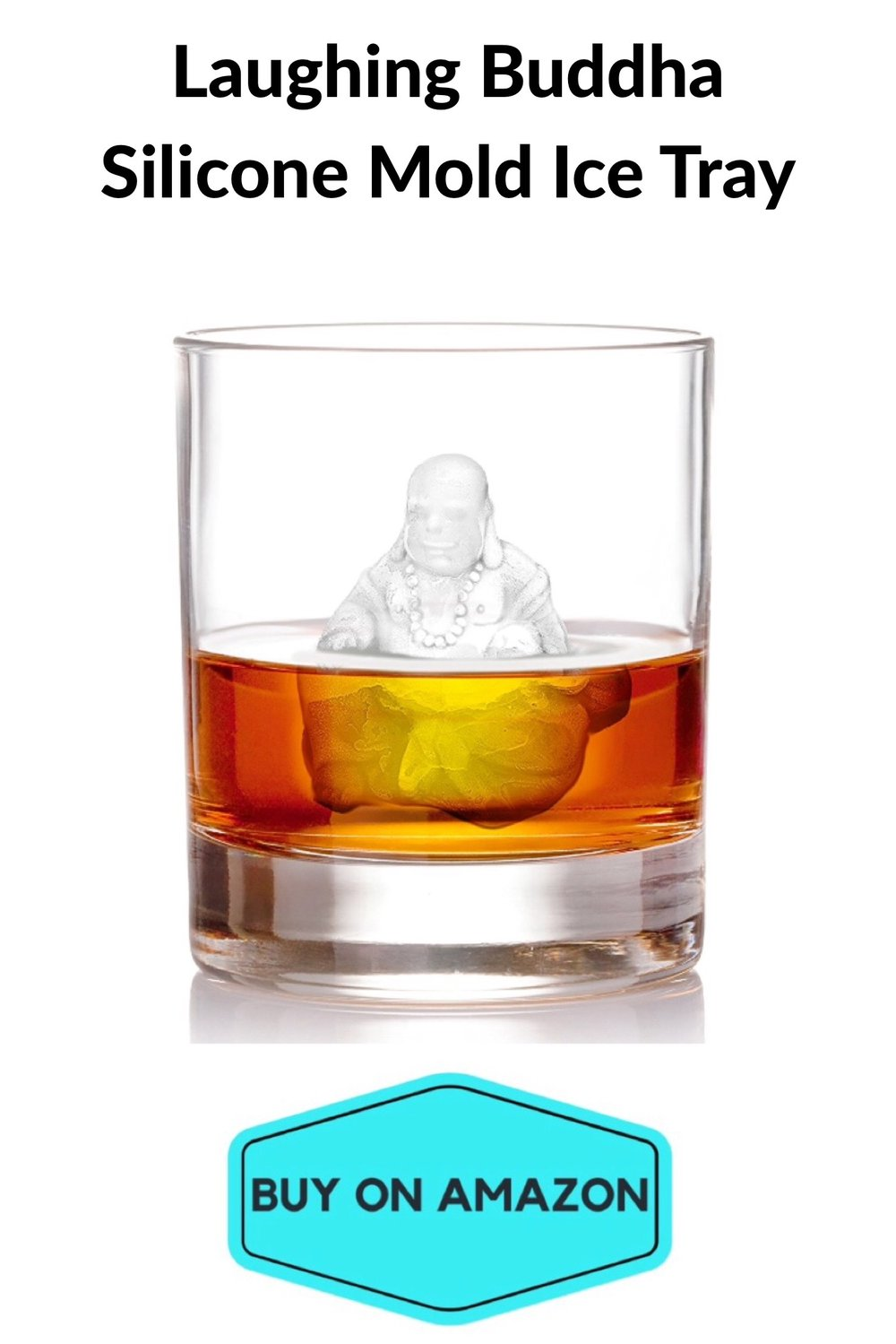 Laughing Buddha Silicone Mold Ice Tray
