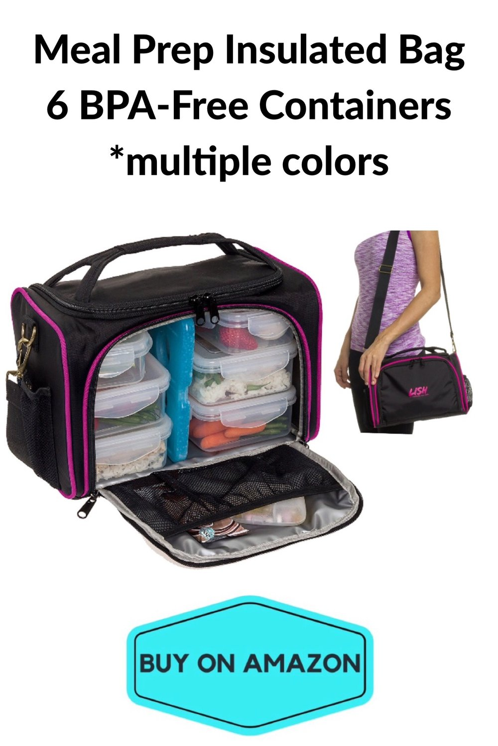 Meal Prep Insulated Bag