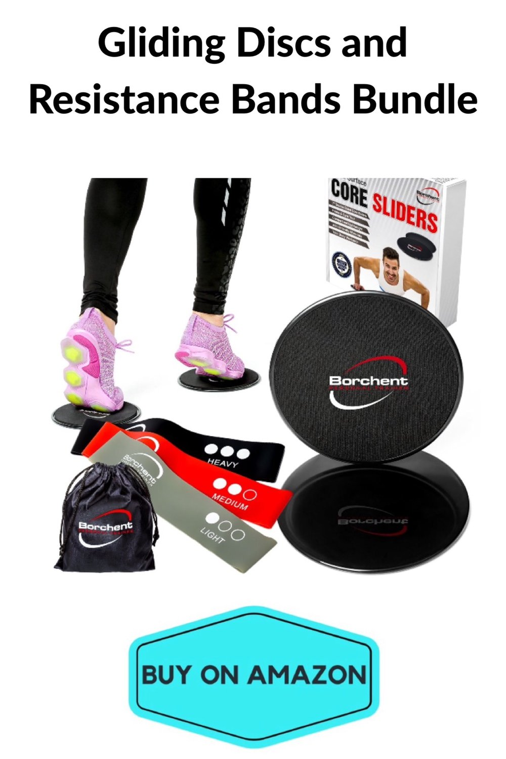 Gliding Discs and Resistance Bands Bundle