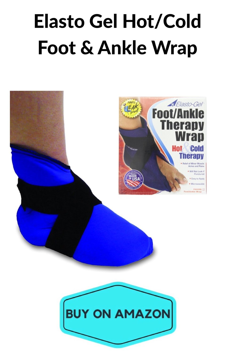 Elasto Gel Hot/Cold Foot & Ankle Wrap
