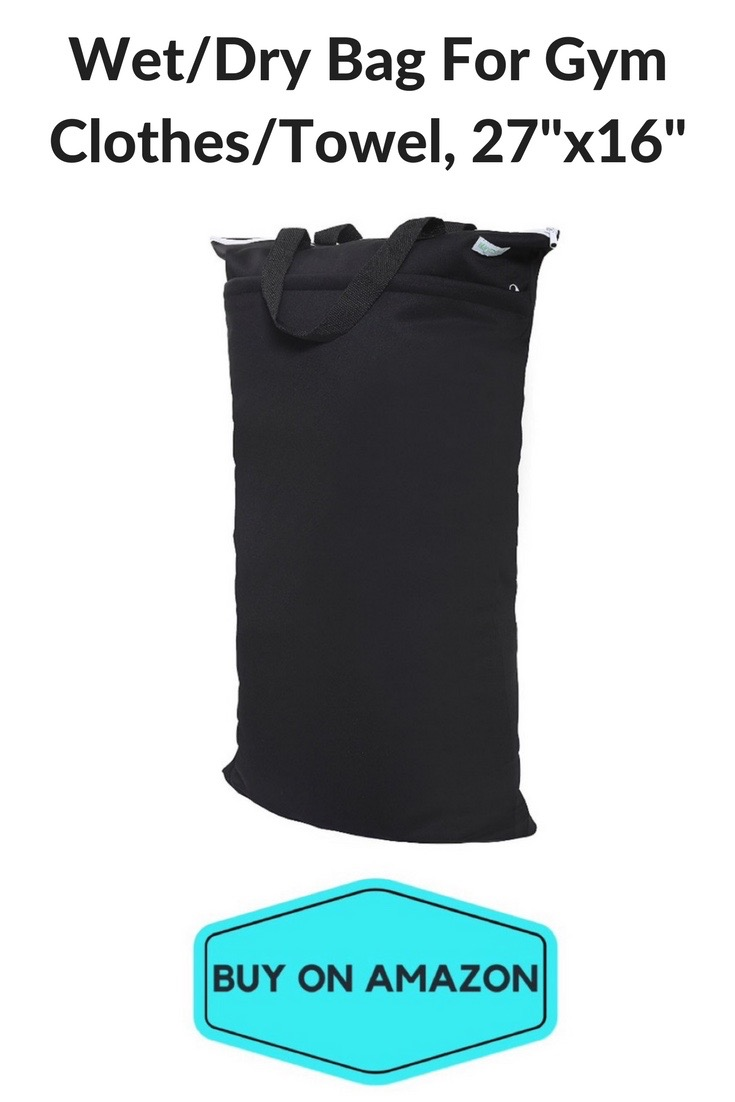 Wegreeco Reusable Hanging Wet/Dry Bag